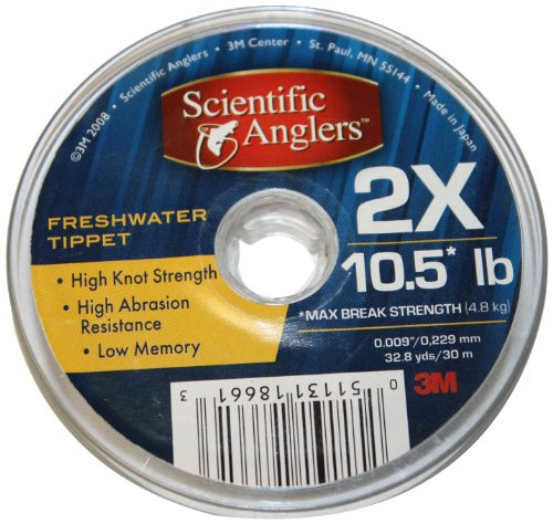 98 ft. of Scientific Freshwater Tippet