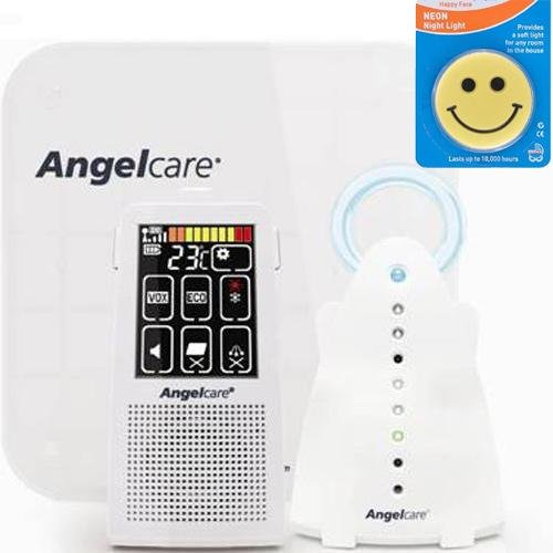 Angelcare Ac701 - Movement And Sound Monitor With Night Light front-514299