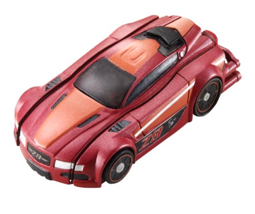 Hot Wheels R / C Stealth Rides Racing Car - ruĝa