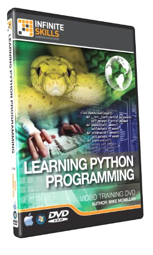 Learning Python Programming - Training DVD - Tutorial Video (Python Programming Software compare prices)