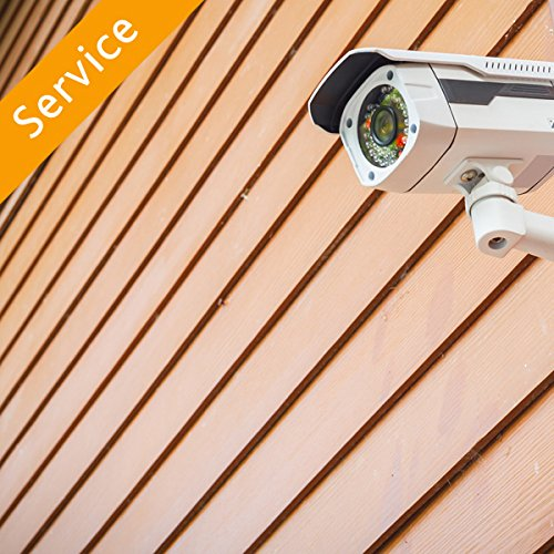 Home Surveillance Camera Installation - 4 Cameras