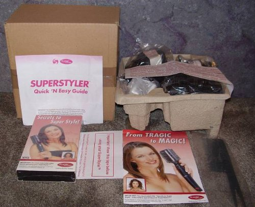 REVO SUPER STYLER ROTATING HAIR BRUSH