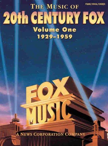 the-music-of-20th-century-fox-v1-volume-1-1929-1959-pvg-vol-1