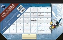 Disney Mickey Mouse 2012 Desk Pad Calendar Dateworks