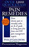 Pain Remedies (0440226554) by Goldberg, Philip