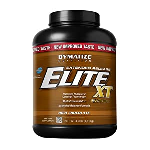 Dymatize Elite XT Dietary Supplement, Rich Chocolate, 4 Pound (Pack of 6)