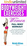 Bodyweight Exercises For Women - Full Body Workout