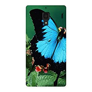 Gorgeous Butterfly on Plant Back Case Cover for Redmi 1S