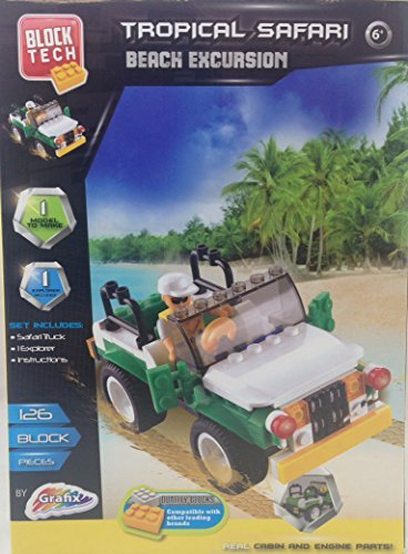 Block Tech Tropical Safari Beach Excursion Set