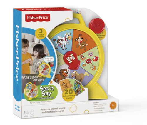 Fisher-Price See 'n Say Talking Game - 1