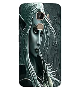 ColourCraft Vamp Look Design Back Case Cover for LeEco Le 2 Pro