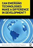 img - for Can Emerging Technologies Make a Difference in Development? book / textbook / text book