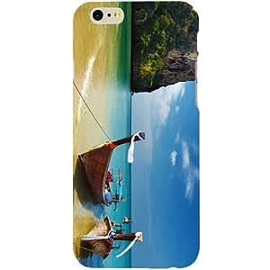 Casotec Boat House Design Hard Back Case Cover for Apple iPhone 6 / 6S