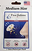 Amazon.com: First Defense Nasal Screens - Multi-Size and Quantity Packs (1-Pack, Medium): Health & Personal Care