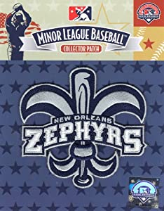 New Orleans Zephyrs Primary Team Logo Jersey Sleeve Patch by Emblem Source