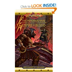 Empire of Blood (Dragonlance:  The Minotaur Wars, Book 3) by richard a. Knaak