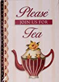 Please Join Us for Tea (Card Invitations) (0736906711) by Clough, Sandy Lynam