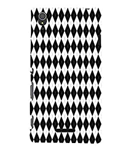 EPICCASE zebra diamonds Mobile Back Case Cover For Sony Xperia T3 (Designer Case)