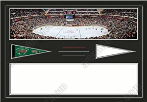 Minnesota Wild Xcel Energy Center Stadium & Your Choice Of Stadium Panoramic... by Art and More, Davenport, IA