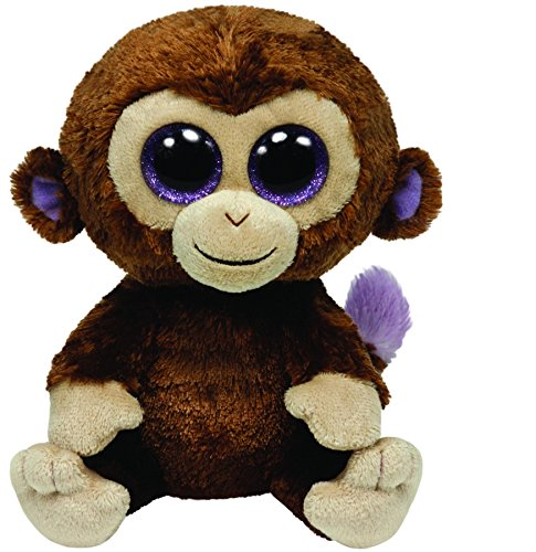 Ty Beanie Boos - Coconut - Monkey (Big Beanie Babies compare prices)