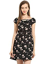 Floral Short Dress Small