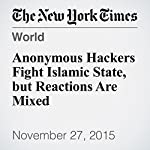 Anonymous Hackers Fight Islamic State, but Reactions Are Mixed | Katie Rogers