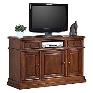 "Quails Run 55"" Media TV Stand Finish: Derby Brown"