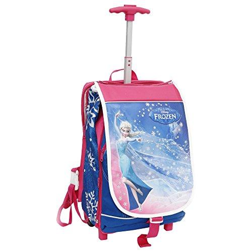 Giochi Preziosi - Zaino Trolley, Frozen, Estensibile, Patella Illuminata con Orologio