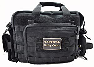 call of daddy tactical baby gear all in diaper bag set black. Black Bedroom Furniture Sets. Home Design Ideas