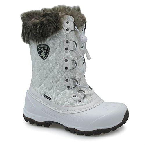 Karrimor Alaska Ladies Weathertite - Stivali da neve da donna, bianco, 38