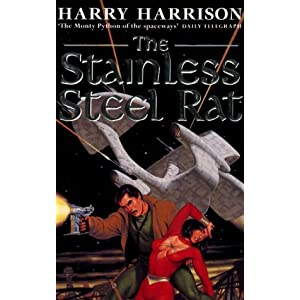 Harry Harrison audio books (mostly The Stainless Steel Rat)
