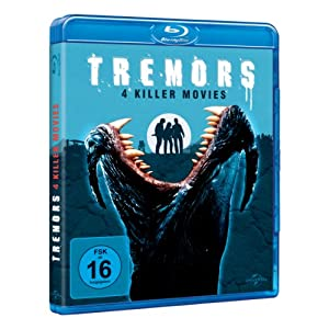 Tremors 1-4 [Blu-ray] [Import allemand]
