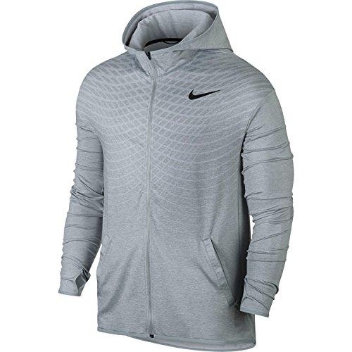 Nike Ultimate Dry Men's Training Hoodie (Wolf Grey,Medium)