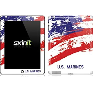 American Flag US Marines Patriotic new iPad Skin decal / sticker at amazon