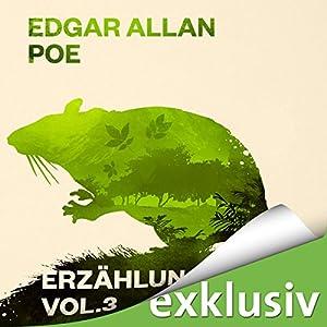 Edgar Allan Poe: Erzählungen 3 Hörbuch