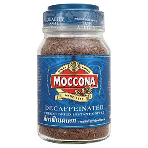 Moccona Decaffeinated Freeze Dried Instant Coffee 7.05 Oz.