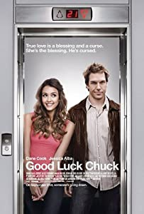 GOOD LUCK CHUCK - Movie Poster - Double-Sided - 27x40 - Original - FINAL - JESSICA ALBA - DANE COOK