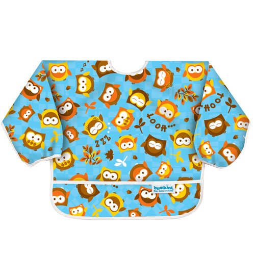 Similar product: Bumkins Waterproof Sleeved Bib