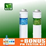 ECO Filter Replacement Set for Tyent MMP 5050/7070/9090 Water Ionizer + Water pH Testing Kit