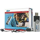 フィリピンSMART社 IP電話USBデバイス 「Plug N' Talk」 ソフトフォン シルバー PT1000BLSA (SIMカード付)