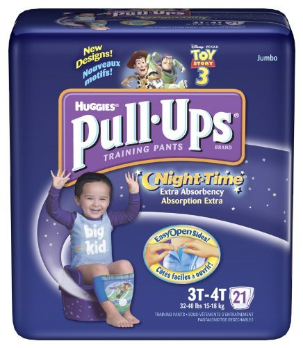 Pull-Ups Night-Time Training Pants, Extra Absorbency,
