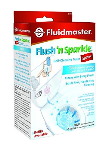 Fluidmaster 8100 Flush N Sparkle Toilet Bowl Cleaning