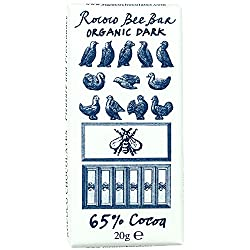 65% Organic Dark Chocolate Bee Bar