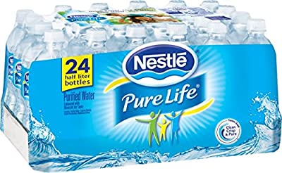 Nestle Pure Life, Purified Water , 24 pack 16.9 oz each from Nestle Water