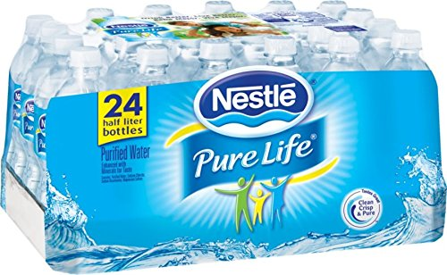 Nestle Pure Life, Purified Water , 24 pack 16.9 oz each (Gerber Pure Purified Water compare prices)