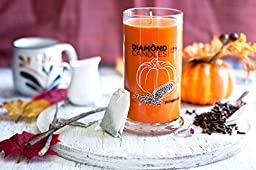 Pumpkin Chai Scent Diamond Ring Jar Candle (Rings Inside Value From $10 to $5000)
