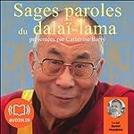 Sages paroles du dalaï-lama | Catherine Barry