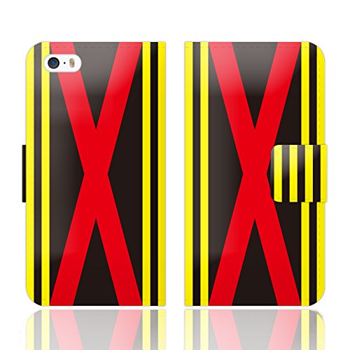 【iPhone5S・5 兼用 手帳型 ケース カバー カードポケット スタンド付】「Special Occasion 「勝負服」 model.01 - designed by GNFB 」騎手 ジョッキー VICTORY 勝負