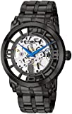Stuhrling Original Men's 165B2B.335B1 Classic Winchester 44 Elite Automatic Skeleton Black IP Watch
