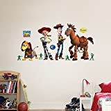 Amazing Disney/Pixar Toy Story Woody & Friends Wall Decals by Fathead